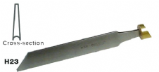 Fluted Parting Tool - 3/16""